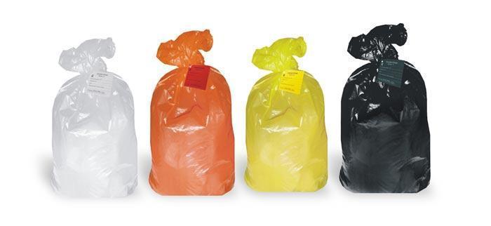 Особенности пакетов для медицинского мусора