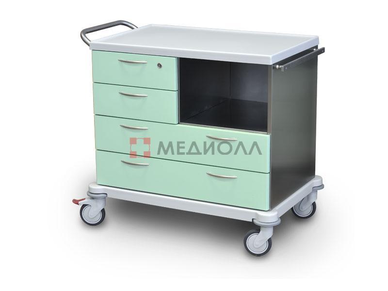 Подставки медицинские и столики процедурные, инструментальные, манипуляционные, анестезиологические