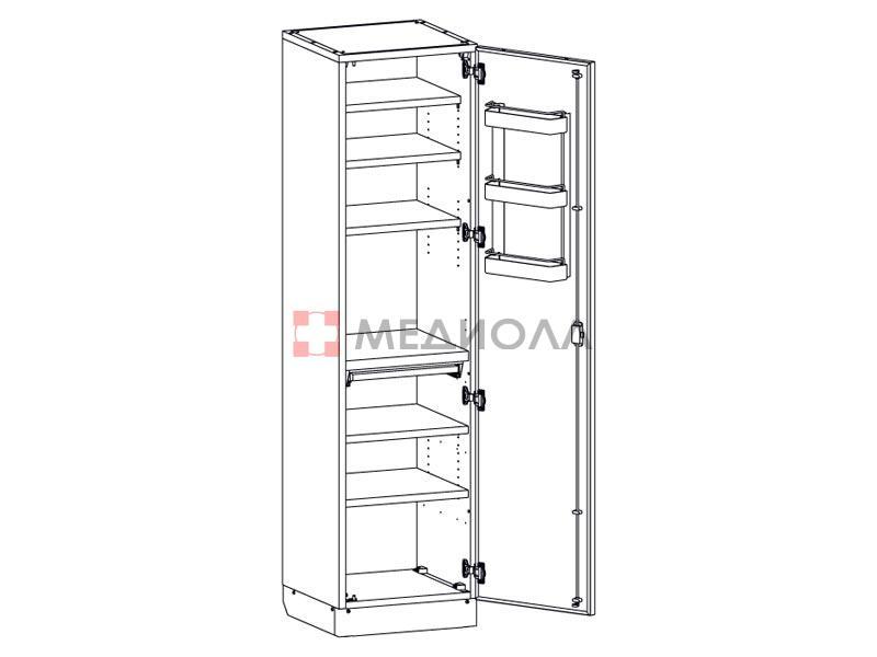 Шкафы металлические Медин (Белоруссия)