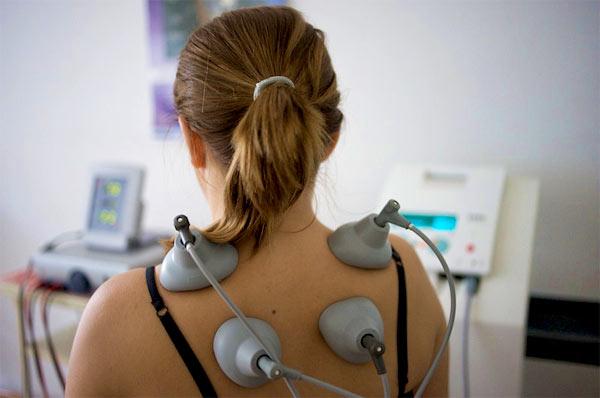 Лечение остеохондроза шейного отдела током